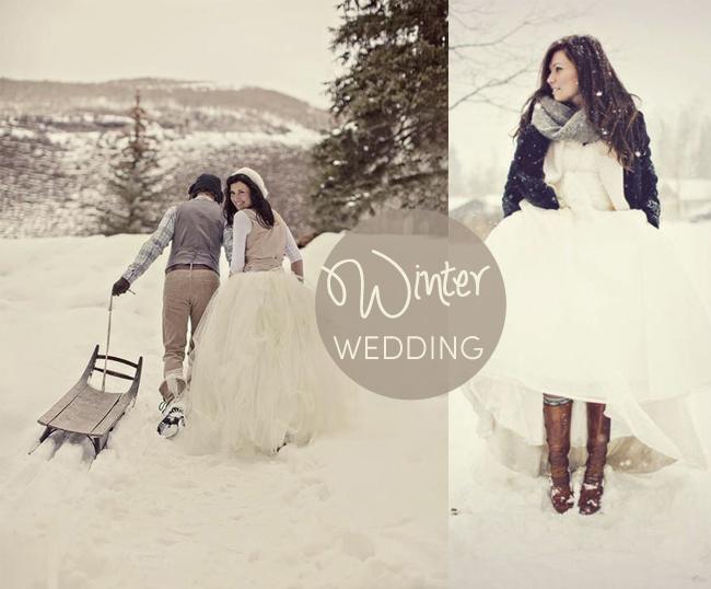 Very Small Winter Wedding Ideas