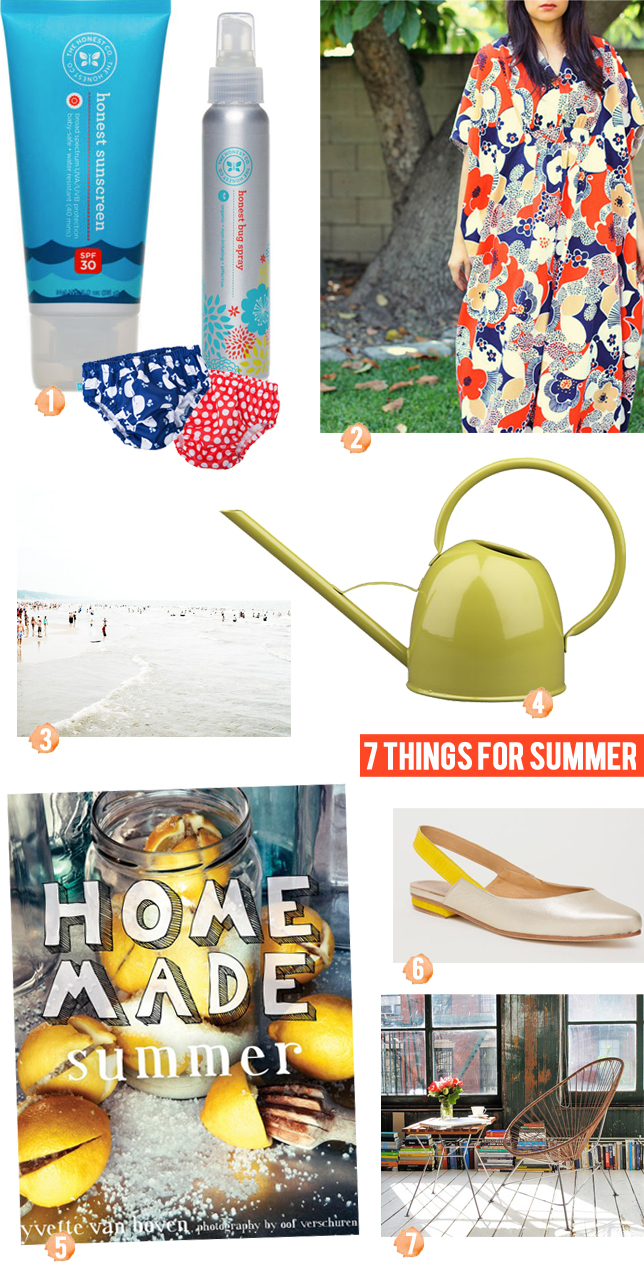 7 Things for Summer