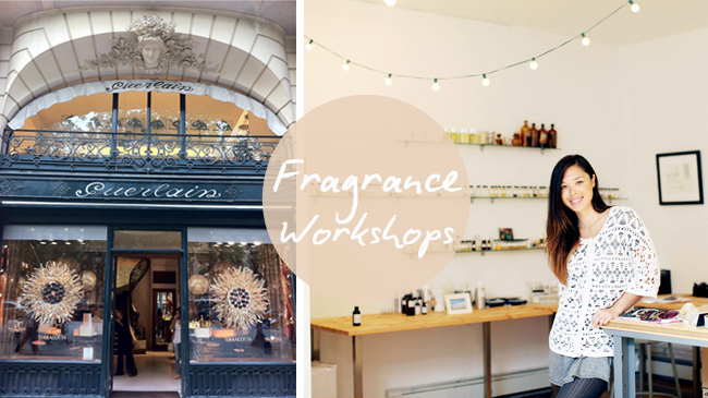 fragrance workshops