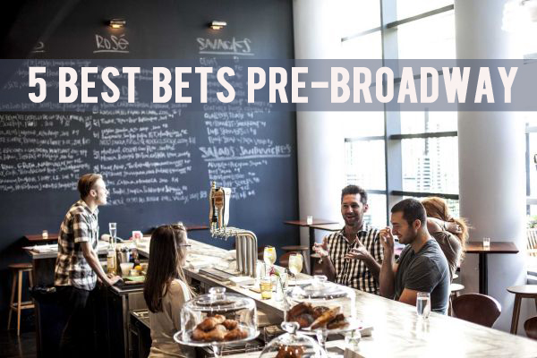 Pre or Post Broadway Bets
