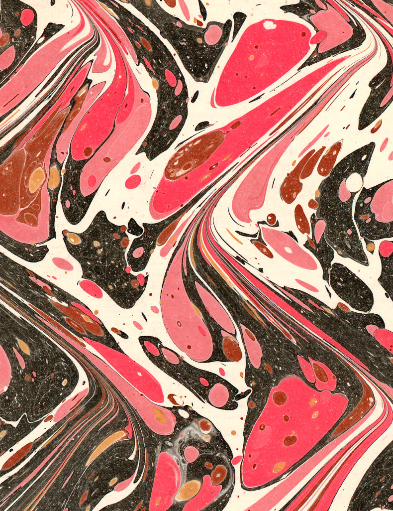 marbled mess