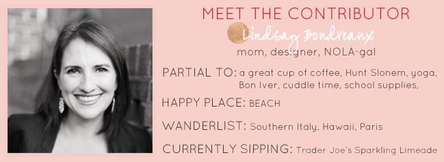 Meet Our Contributor: Lindsay Boudreaux