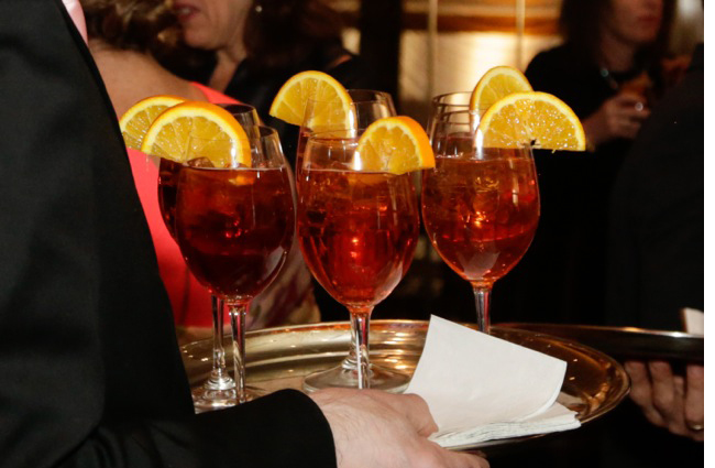springtime cocktail