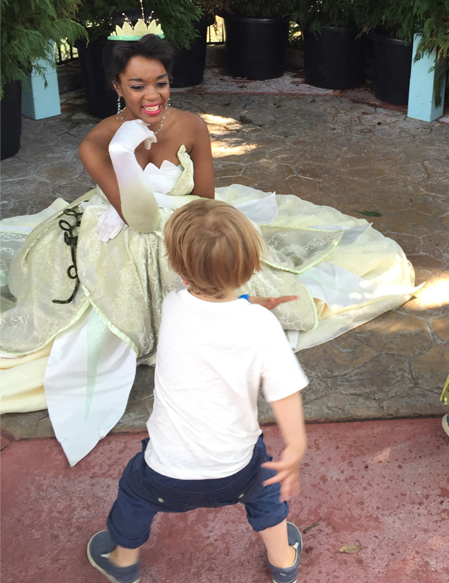A knee-slappin' dance for Tiana