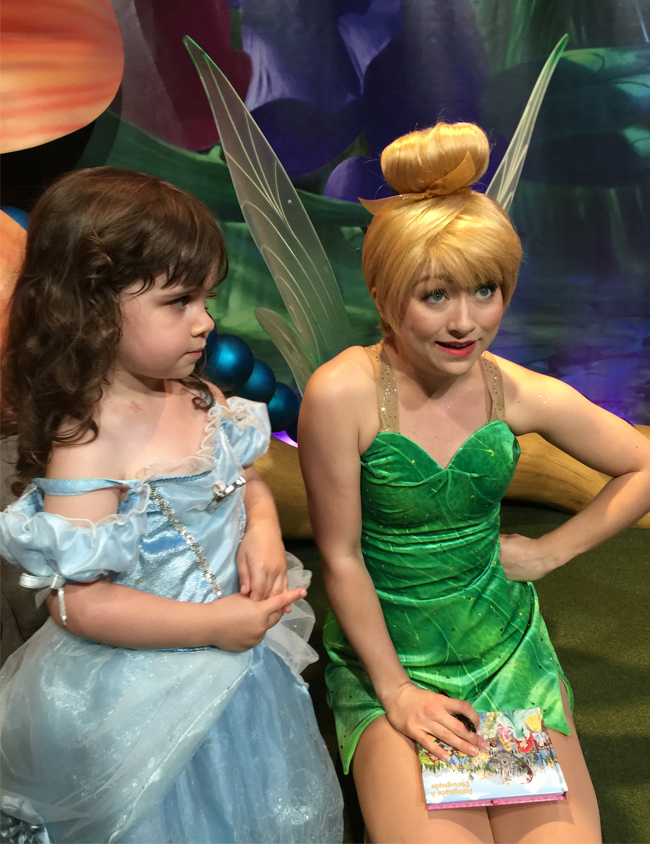 Tinkerbell and Side-Eye